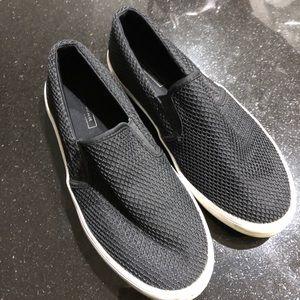 Zara Black Slip On Shoes Sneakers